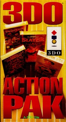 3DO Action Pak Cover Art
