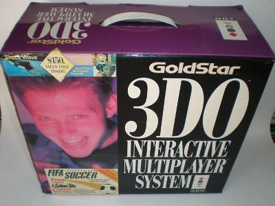 3DO Console [GoldStar] Cover Art