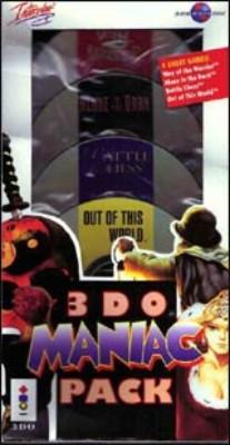 3DO Maniac Pack Cover Art