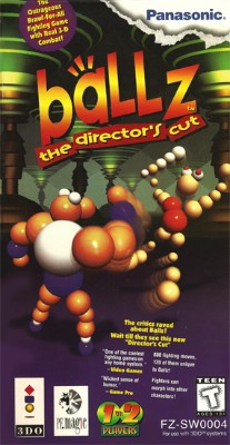 Ballz: The Director's Cut Cover Art