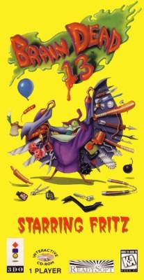 Brain Dead 13 Cover Art