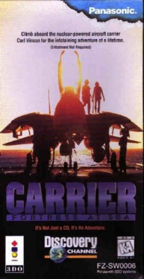 Carrier: Fortress at Sea Cover Art