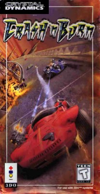 Crash 'N Burn Cover Art