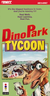 DinoPark Tycoon Cover Art