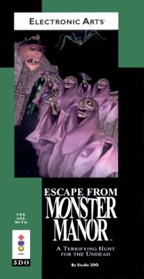 Escape from Monster Manor Cover Art