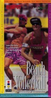 ESPN Let's Play Beach Volleyball Cover Art