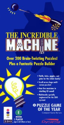 Incredible Machine Cover Art