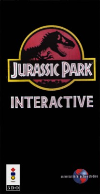 Jurassic Park Interactive Cover Art