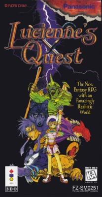 Lucienne's Quest Cover Art