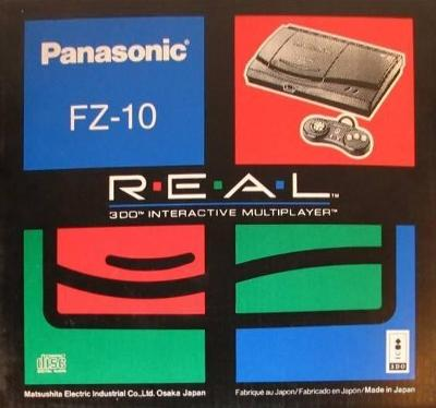 3DO Console [Panasonic FZ-10] Cover Art