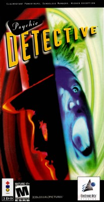 Psychic Detective Cover Art