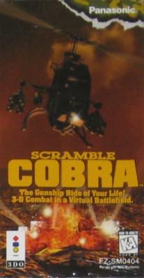 Scramble Cobra Cover Art