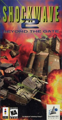 Shockwave 2: Beyond the Gate Cover Art
