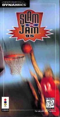 Slam 'N Jam '95 Cover Art
