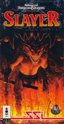 Advanced Dungeons & Dragons: Slayer Cover Art