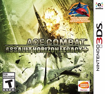 Ace Combat: Assault Horizon Legacy+ Cover Art