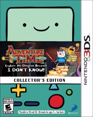 Adventure Time: Explore the Dungeon Because I Don't Know [Collector's Edition] Cover Art