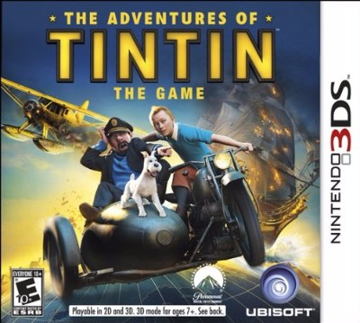 Adventures of Tintin: The Game Cover Art