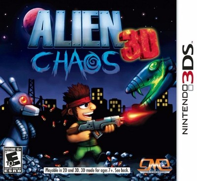 Alien Chaos 3D Cover Art