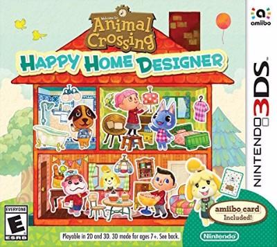 Animal Crossing Happy Home Designer Cover Art