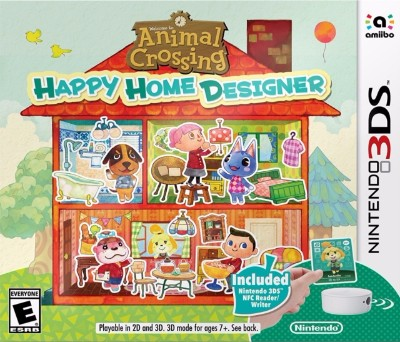 Animal Crossing: Happy Home Designer [Bundle] Cover Art