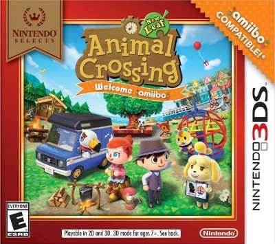 Animal Crossing: New Leaf - Welcome Amiibo Cover Art