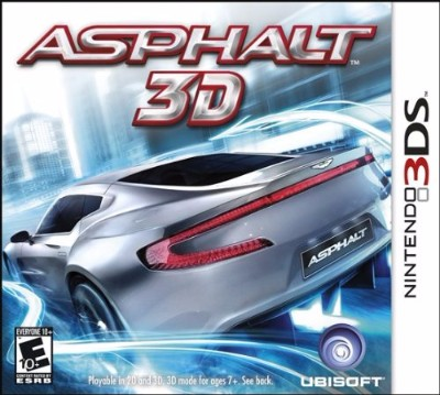 Asphalt: 3D Cover Art