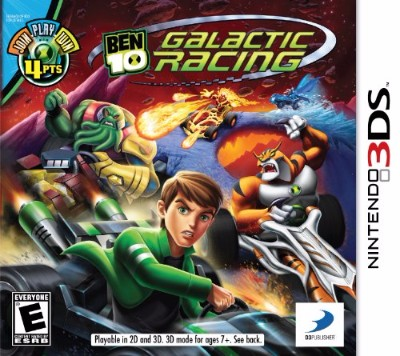Ben 10: Galactic Racing Cover Art