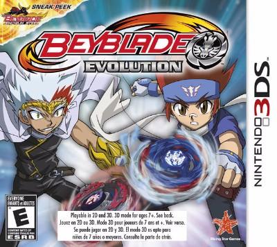 Beyblade: Evolution Cover Art