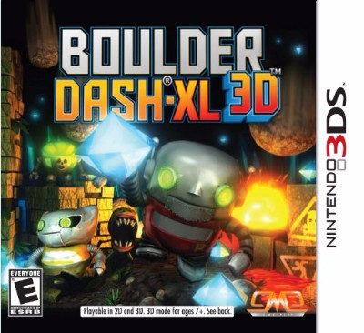 Boulder Dash-XL 3D Cover Art