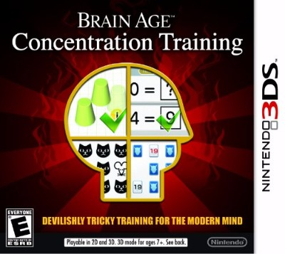 Brain Age: Concentration Training Cover Art