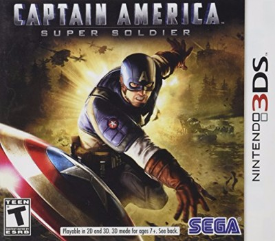 Captain America Super Soldier Cover Art
