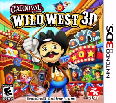 Carnival Games Wild West 3D Cover Art