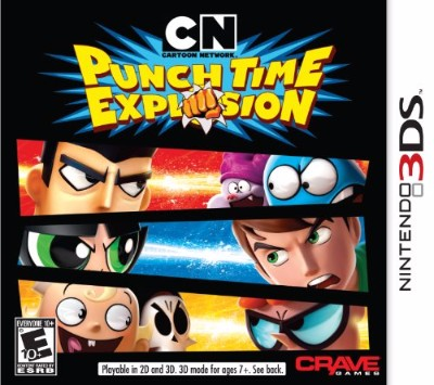 Cartoon Network: Punch Time Explosion Cover Art