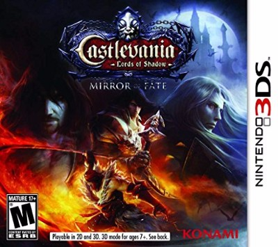 Castlevania: Mirror Of Fate Cover Art