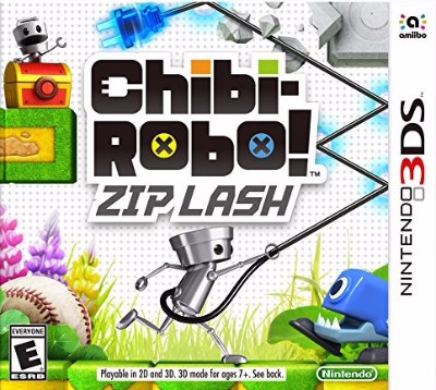 Chibi-Robo Zip Lash Cover Art