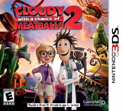 Cloudy With a Chance of Meatballs 2 Cover Art