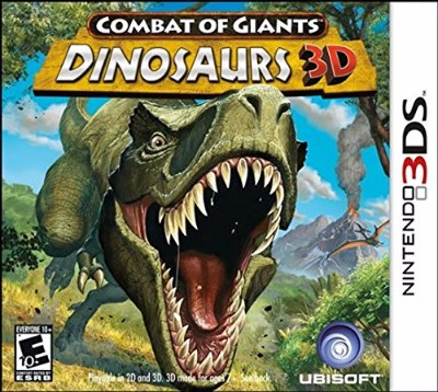Combat of Giants: Dinosaurs 3D Cover Art