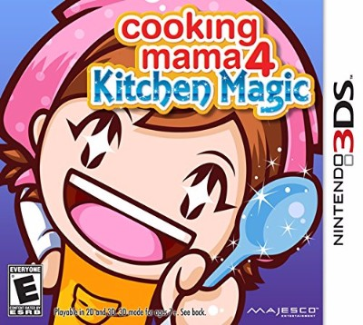 Cooking Mama 4: Kitchen Magic Cover Art
