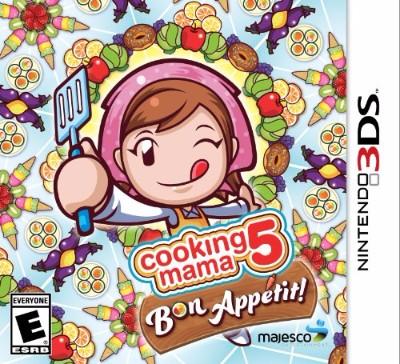 Cooking Mama 5: Bon Appetit Cover Art
