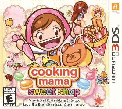 Cooking Mama: Sweet Shop Cover Art