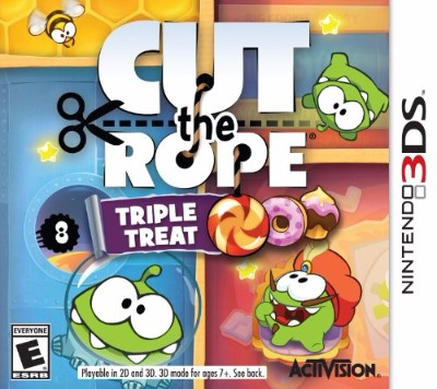 Cut the Rope: Triple Treat Cover Art