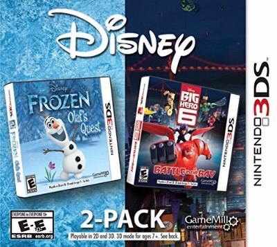 Disney 2-Pack (Frozen - Big Hero 6 Combo) Cover Art
