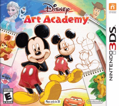 Disney Art Academy Cover Art