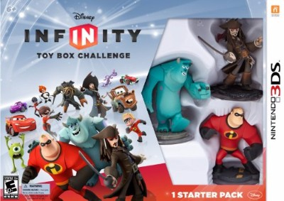 Disney Infinity Starter Pack Cover Art