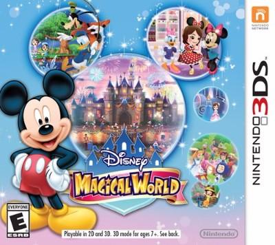 Disney Magical World Cover Art