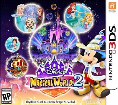 Disney Magical World 2 Cover Art