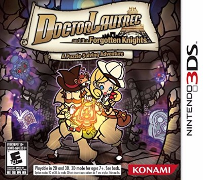 Doctor Lautrec and the Forgotten Knights Cover Art