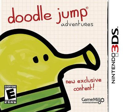 Doodle Jump Adventures Cover Art