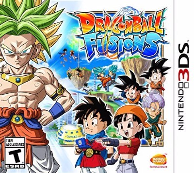 Dragon Ball Fusions Cover Art